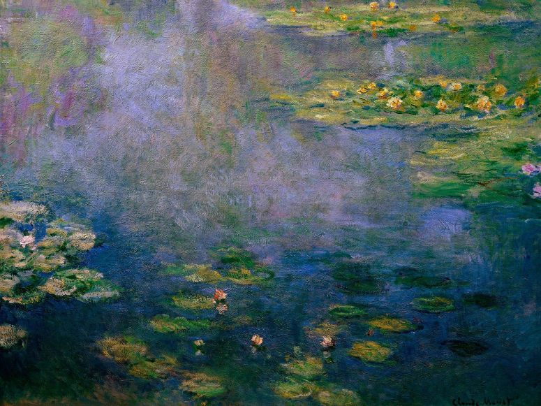 Drawn_wallpapers___Paintings_Painting_Claude_Monet_-_Water_Lilies_069250_